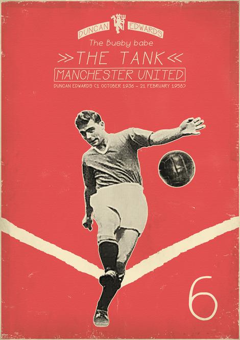 Modern Vintage Soccer Posters